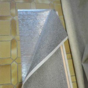 Teppichheizung mit Heizvlies und Isomatte