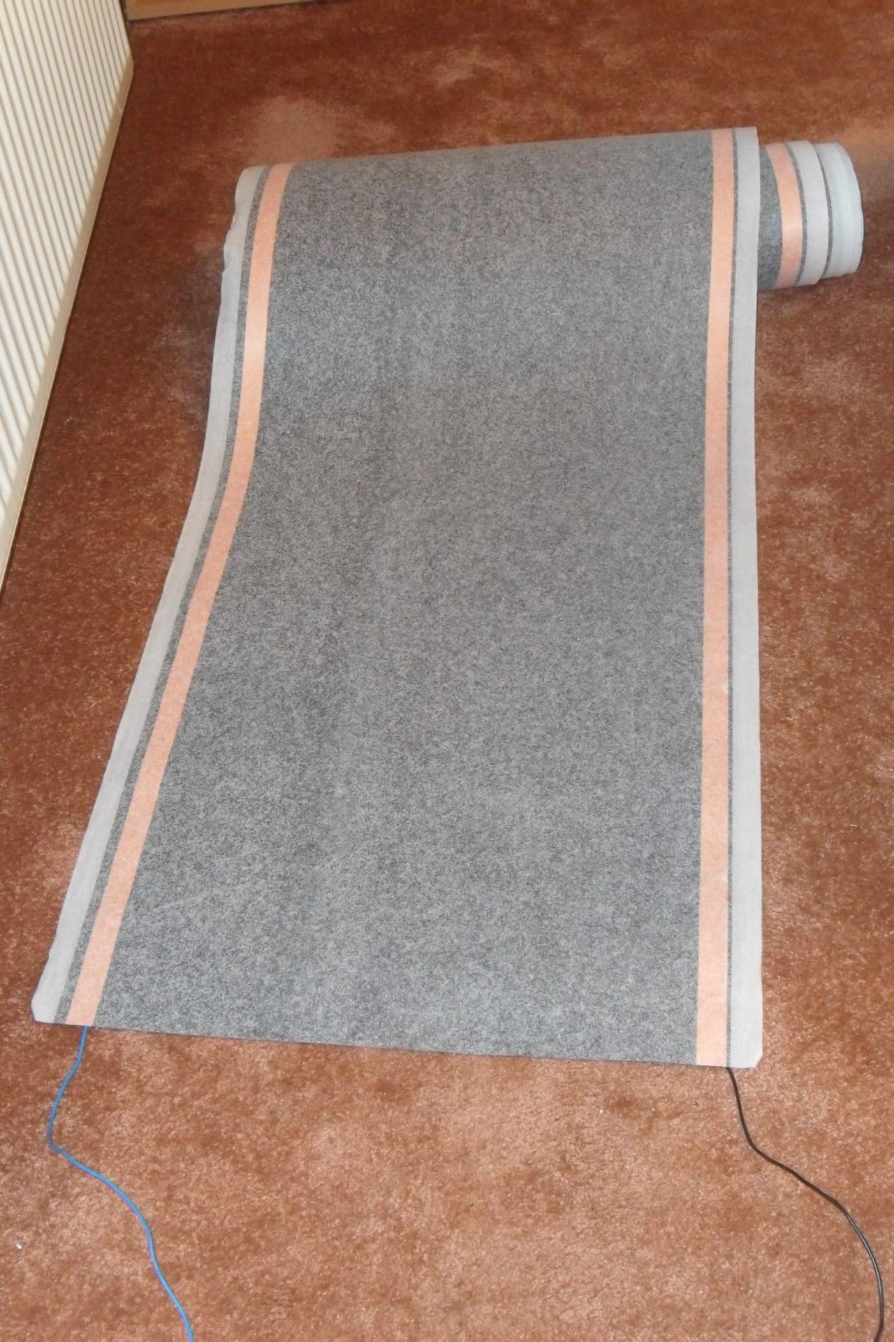 heizfolie fuer die teppichheizung
